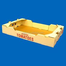 Big carton fruit packing box for tomato and strawberry/la frutas caja