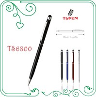 slim metal touch stylus ball pen for smart phone