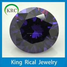Hot Sale Wholesale Jewelry Supplies Synthetic Cubic Zirconia DIY Jewelry Amethyst AAA Perfect Cut Diamond