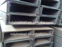 hot rolled mild steel U Channels A36 Q235