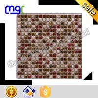 Glazed ceramic mosaic - square shape