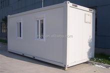 2015 china prefabricated container house /flat pack container dormitory/prefabricated homes/shop/office