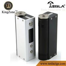 Tesla 60w TC box mod 0.18-3ohm temperature control tesla e-cigarette