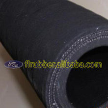 1 inch high quality black fabric heat-resistant rubber hose