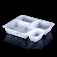 white disposable plastic fruit tray,frozen food tray packaging