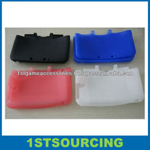 silicon skin/case for Nintendo 3dsll, game cover case for Nintendo 3dsll