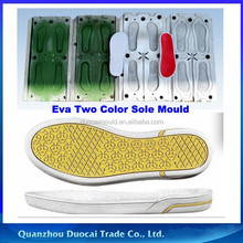 Fashion Eva Injection Two Color sole mould