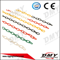 QD DMY large long colorful black red white green plastic chain