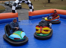 bumper car inflatable arena,spin bumper cars, colorful new bumper boat for adults