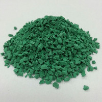Colored EPDM Rubber Granules, EPDM Crumb Rubber For Rubber Flooring -FN-D150505