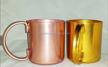 Manufacturing wholesale direct manufacturer moscow mule copper mug, copper moscow mule mug stainless steel coffee cup