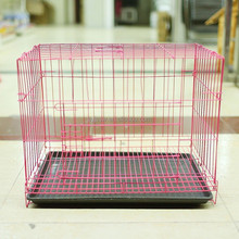 wire folding pet crate dog cage/cheap dog crate