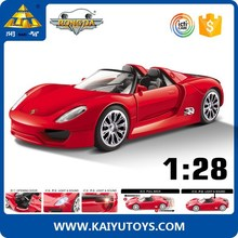 1:28 diecast model car metal car model