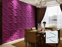 Guangdong Natural 3D Fiber Cement Board Ceiling For Interior Decor