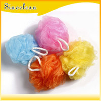 Varied Colors,Body Benefits Net Bath Sponge, PE Shower soft Bath Sponge