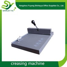 2014 manual die cutting and creasing machine on sale