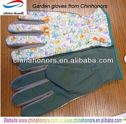 protective cotton gardening glove wholesale with pvc dots