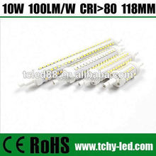 2015 Newest cri80 107lm/w led r7s double ended metal halide lighting bulb