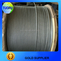 China supplier cheap galvanized or ungalvanized Steel Wire Rope 6*29FI+IWRC for Hoisting derricking