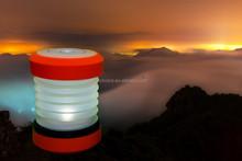 Telescopic Lantern Ultralight Flashlight and Collapsible Lantern in One Emergency Light Torch Hiking Fishing Lamp