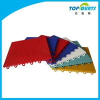 Outdoor Plastic Multi-purpose Interlocking Sports Court Flooring
