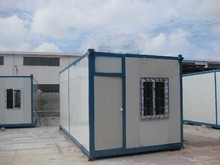 Removable and dismountableFlat pack foldable steel storage container house