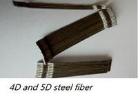 New design 4D/5D/Hooked end/cold drawn/concrete reinforcement/High tensile steel fiber Irrigation