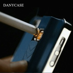 Popular for iphone 5 case, cell phone case with lighter