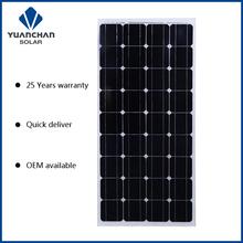 100w mono pv solar panel
