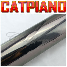 Catpiano Car Sticker the best quality air bubble free car wraps 1.52x30m Chrome Vinyl / Black Chrome Vinyl Car Wrap