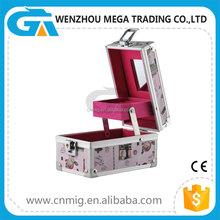 Small Size High Quality Aluminum Custom Makeup Case/ Box