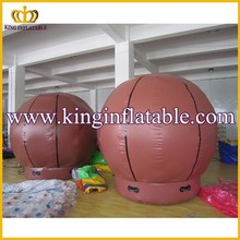 High Quality PVC/Nylon Giant Inflatable Basketball/Soccer Ball Outdoor Advertising
