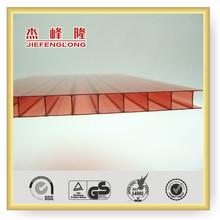 2 Layers Polycarbonate Sheet PC Sheet Sun Sheet Plastic Building Material 10 Years Gurantee solar panel