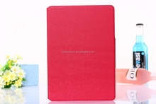 2015 hot selling Card Holder hybrid pu stripe leather cover case for iPad 4