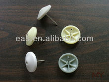 security tag P06 with cone shape hat plastic coated p06 pins