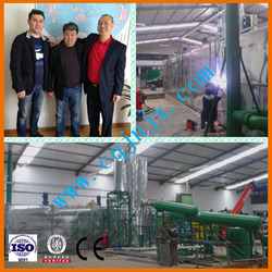 New machine with CE/ISO certification get diesel oil. China JNC vehicle waste grease recycling