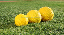 Yellow Pitching Machine Baseball