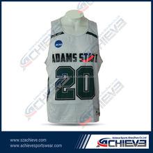 league design large size male basketball jersey