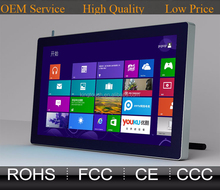 Flexible Glass/Glass 23 Inch Projected Capacitive Touch Screen Panel,Capacitive Multi Touch Screen Panel 10 touch points