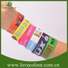Hot sale custom made silicone bracelets for advertising