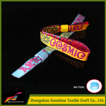 custom wristbands handcrafted for fluorescent party accessories