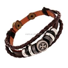 Latest charm leather bracelet teen leather bracelet leather ankle bracelets