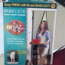factory price for magnetic magic mesh screen door