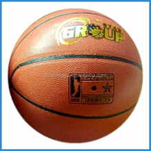 Good bounce pvc leather basketball size 7
