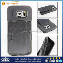 [GGIT] Leather TPU Case For Samsung S6 With Card Slot