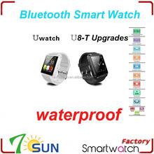 "new product waterproof android watch phone U8s U Watch 1.48"" Waterproof Bluetooth Smart Wristwatch For Iphone Samsung LG HTC"
