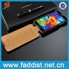 High quality pu leather mobile phone case for Samsung s5 case