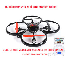 New Version 2.4G 6 Axis GYRO FPV RC Quadcopter RTF RC Helicopter with LED Light and FPV monitor LH-X4C