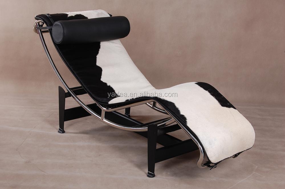 Meubles de salon le corbusier chaise longue lc4 peau de - Elastique chaise longue ...