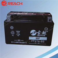 OEM High Performance Sealed Lead Acid Chinese Motorcycle battery 12V 4Ah 5Ah 6Ah 7Ah